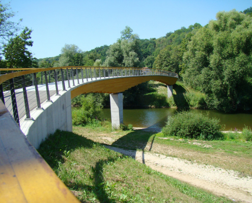 spezielle artenschutzrechtliche Prüfung (saP) Neckartenzlingen Radwegebrücke