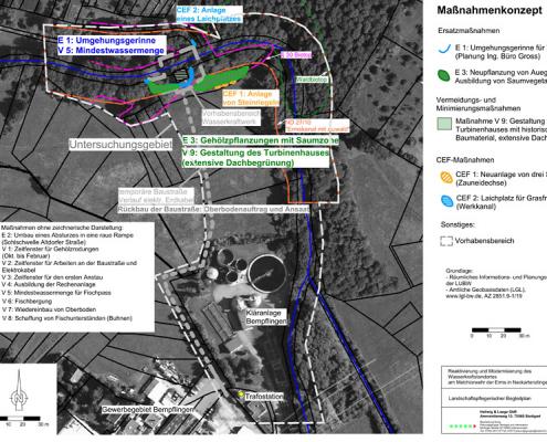 LBP Wasserkraftwerk Melchiorwehr Neckartenzlingen
